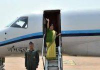 सुषमा स्वराज का विमान 14 मिनट तक लापता