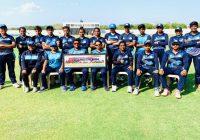 तेजस्वी के पंच से बिहार ने मणिपुर को 113 रनों से दी करारी शिकस्त।