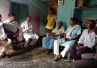 जदयू पार्टी के लोगो ने  शहीद परिवार से की मुलाकात, कहा हमारी सरकार हमेशा से शहीद परिवार के साथ खड़ी है।