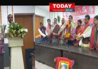 लोक शक्ति पार्टी का 25 वा स्थापना दिवस आई एम ए हॉल  पटना मनाया गया