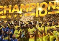 एक नजर।  चेन्नई सुपरकिंग्स आईपीएल 2018 का सफर